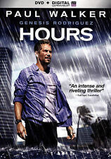 Hours (DVD, 2014) Mint in Widescreen Version,Same Day Shipping,Paul Walker
