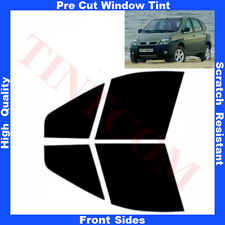 Pre Cut Window Tint Renault Scenic RX4 5 Doors 2000-2003 Front Sides Any Shade