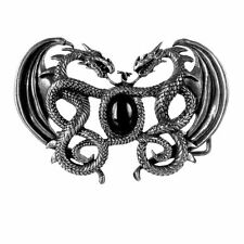 Alchemy Gothic Gramilion Pewter Belt Buckle BRAND NEW