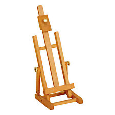 ARTIST TABLE TOP EASEL 34cm ADJUSTABLE WOODEN BEECH FOR DISPLAY & PAINTING B34