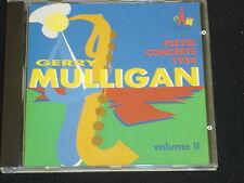 GERRY MULLIGAN Pleyel concerts 1954 volume II- CD