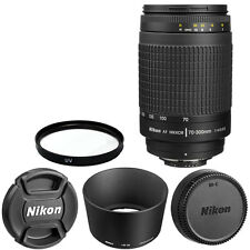Nikon AF Zoom Nikkor 70-300mm f/4-5.6G Lens +  For DSLR Cameras Brand New I