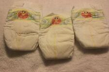 3 Diapers Baby Reborn Baby Doll Elmo Sesame Street Pamper Diaper Set Nappy OOAK