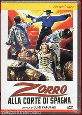 Zorro alla corte di Spagna (Luigi Capuano 1962) DVD