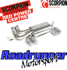 Scorpion M3 E46 Exhaust Stainless Steel Rear Silencer Back Box Cabrio 01-06