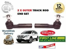 FOR HONDA CRV 2.0 2.2 CTDI DTEC 2006-2012 NEW  2x OUTER TRACK RACK TIE ROD END