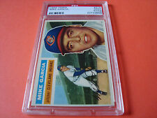1956 Topps  #210 MIKE GARCIA  psa 9 oc  Cleveland INDIANS (850)