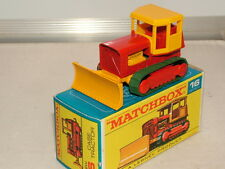 MATCHBOX REGULAR WHEELS n ° 16 cas bulldozer vnmb