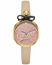 Kate Spade Women's Metro Vachetta Leather Strap Watch KSW1176 NEW IN BOX!!