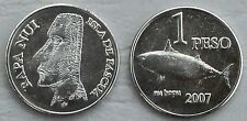 Osterinsel / Easter Island 1 Peso 2007 unc.
