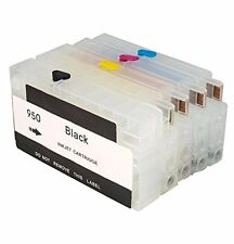4 HP Refillable ink cartridges HP 950 951XL for Officejet Pro 8100 8600 251 27