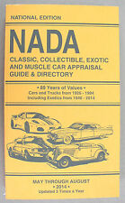 NADA Classic Collectible Exotic & Muscle Car Price Guide Cars Trucks Exotics
