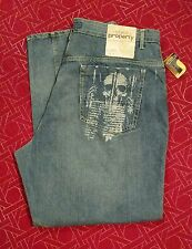 MEN'S STATE PROPERTY JEANS ACTUAL SIZE 43 X 34  (Label: 46 ) NWT