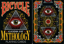 CARTE DA GIOCO BICYCLE GODS OF MYTHOLOGY,poker size