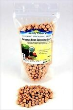 16 OZ - ORGANIC GARBANZO BEANS-DRIED- DRY GARBONZO SPROUTING SEEDS - SPROUTS