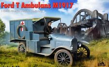 FORD T MILITARY AMBULANCE (U.S., FRENCH & POLISH ARMY MKGS) 1/72 RPM (LIMITED)