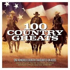 100 Country Greats VARIOUS ARTISTS Best Of 100 Songs ESSENTIAL MUSIC New 4 CD