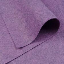 """9 """"x18"""" jaspeado de púrpura Fieltro De Lana Tejido / Quilting Juguete Muñeca de creación de tarjetas"""
