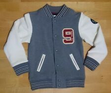BNWT H&M grey and white baseball style jacket (Uk 6-8 years, EU 122/ 128cm)
