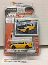 2011 Ford Mustang GT * Yellow * Greenlight GL Muscle * W4