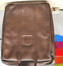 Rare  Apple II Computer Leather Carrying Case (see pics) (Ships Worldwide)