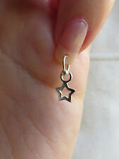 SILVER STAR NAIL DANGLE/CHARM/BODY JEWELLERY