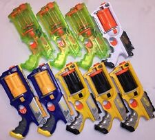 LOT Of 9 NERF N-STRIKE MAVERICK REV-6 Dart Gun Blaster Party Pack