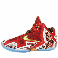 "NIKE LEBRON JAMES XI (11) PREMIUM ""NBA 2K14 EDI""..SIZE MEN 7/or WOMEN 8.5..RARE!"
