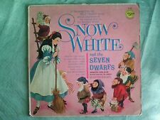 SNOW WHITE AND THE SEVEN DWARFS Soundtrack / Golden Records LP 93