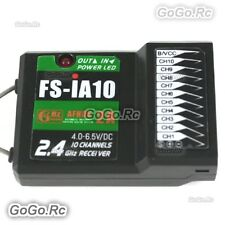 Fly-Sky FS-iA10 2.4Ghz 10 Channels AFHDS 2A Receiver For RC Helicopter Airplanes