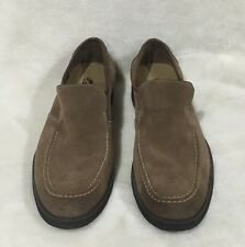 Mens Hush Puppies Beige Camel Suede Loafers 1958 Size 7.5M? 9.5 -