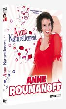 25645 // ANNE ROUMANOFF ANNE NATURELLEMENT DVD NEUF SOUS BLISTER