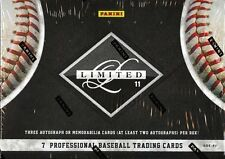 2011 PANINI LIMITED BASEBALL HOBBY BOX FACTORY SEALED NEW