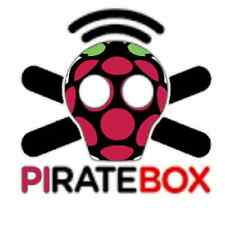 Raspberry Pi PirateBox Portable Message Board Chat File Sharing 16G SD card