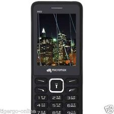 "MICROMAX | 2.4"" Screen Dual Sim Bluetooth FM Camera Mobile Phone 