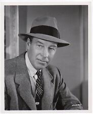 BILL ELLIOTT western actor SUDDEN DANGER film noir VINTAGE ORIG PHOTO fedora hat