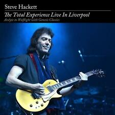 The Total Experience Live In Liverpool von Steve Hackett (2016) 2CD & 2DVD Neuwa
