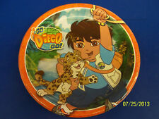 "Go, Diego, Go! Nick Jr Diego Cartoon Kids Birthday Party 9"" Paper Dinner Plates"