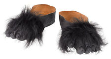 Gorilla Affen Füße Schuhüberzieher NEU - Zubehör Accessoire Karneval Fasching