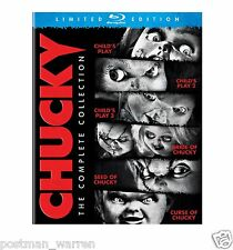 Chucky The Complete Collection - Child's Play Blu-ray Box-Set - Limited Edition
