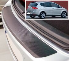 Seat Altea XL - Carbon Style rear Bumper Protector
