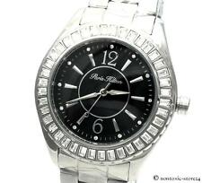 PARIS HILTON UHR ARMBANDUHR Lady Watch für for IT Girl Edelstahl silber PH11558M