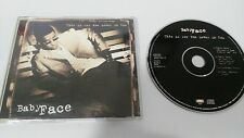 BABY FACE THIS IS FOR THE LOVER IN YOU MAXI SINGLE CD 4 TRACKS MEGA RARE!!!