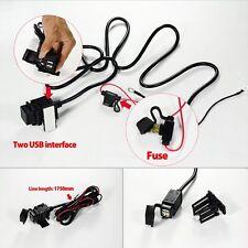 USB Motorcycle Mobile Waterproof Splashproof Power Supply Harley Socket Charger