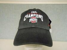 NEW BIG 10 CHAMPIONS OHIO STATE BUCKEYES MENS ONE SIZE FITS MOST Cap Hat