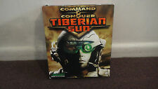 COMMAND AND CONQUER: TIBERIAN SUN.  *RARE* BIG RETAIL BOX, NICE! LOOK!!