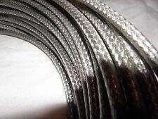Bowdenzug Außenhülle Silber Geflochten 5 m Rolle Bremse und Schaltung