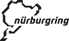 2 X NURBURGRING STICKER CAR VAN DECAL