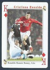 PLAYING CARD-FAR EAST ISSUE-CRISTIANO RONALDO-MANCHESTER UNITED-REF #KD