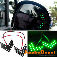 Green Arrow Panel LED Light Car Auto Side Mirror Turn Signal Lamp For Dodge Ram